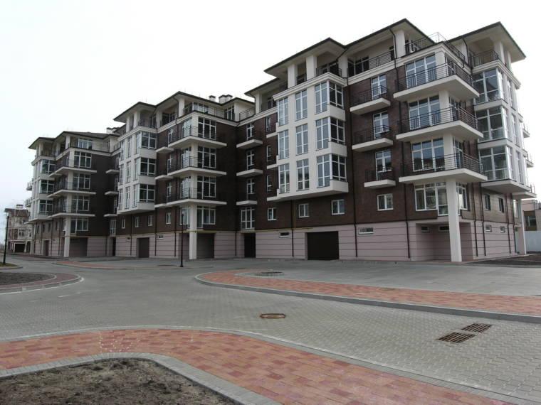 Многоквартирный жилой дом в пос.